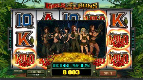 Girls with Guns Jungle Heat online video slot