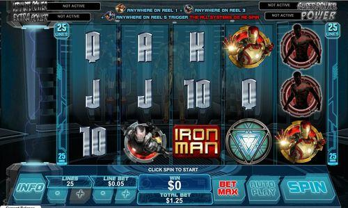 Iron Man 3 online slot